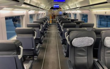 Deutsche Bahn Ice First Class – 8