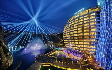 Intercontinental Shanghai Wonderland Lights
