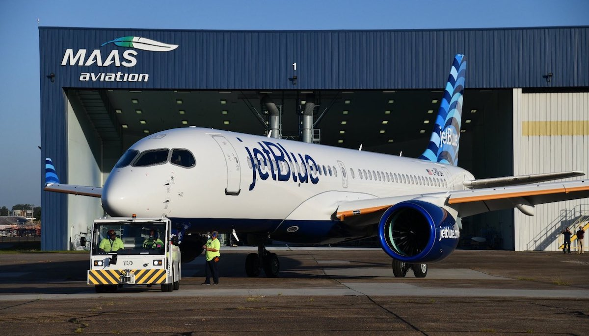 Look, It's JetBlue's (Stunning) First Airbus A220! | One Mile at a Time