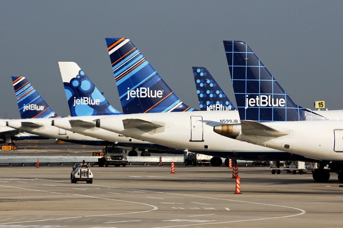 JetBlue Planes Tails