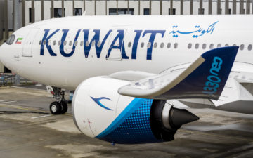 Kuwait Airways A330 800