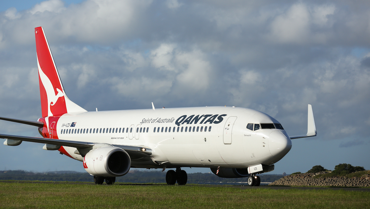 """Hah: Qantas Operating """"Scenic Flight To Somewhere""""   One Mile at a Time"""