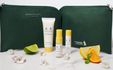 Singapore Airlines Business Class Amenity Kit