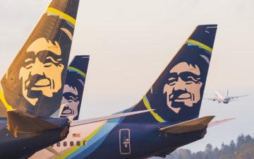 Alaska Air Tails