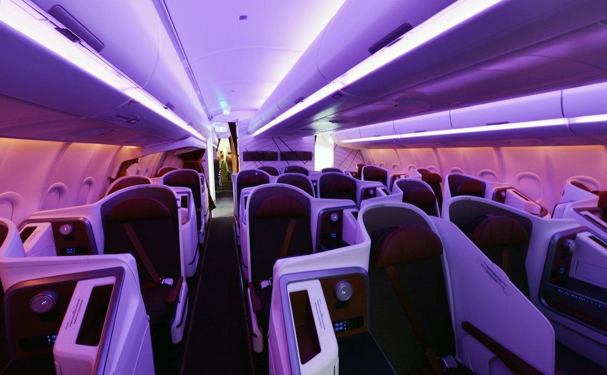 Uganda Airlines Business Class 1
