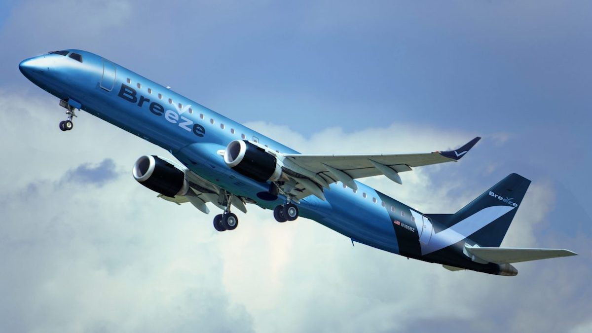 Breeze Airways Embraer 195