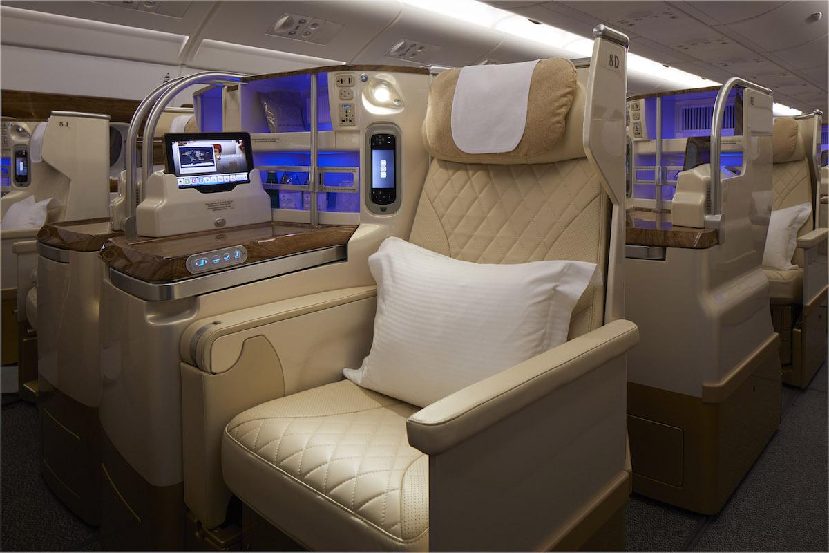 Emiratss Business Class A380
