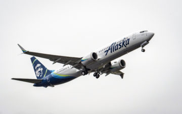 Alaska Airlines 1st Max Delivery Event