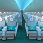 Fly Coral Way A220 Cabin