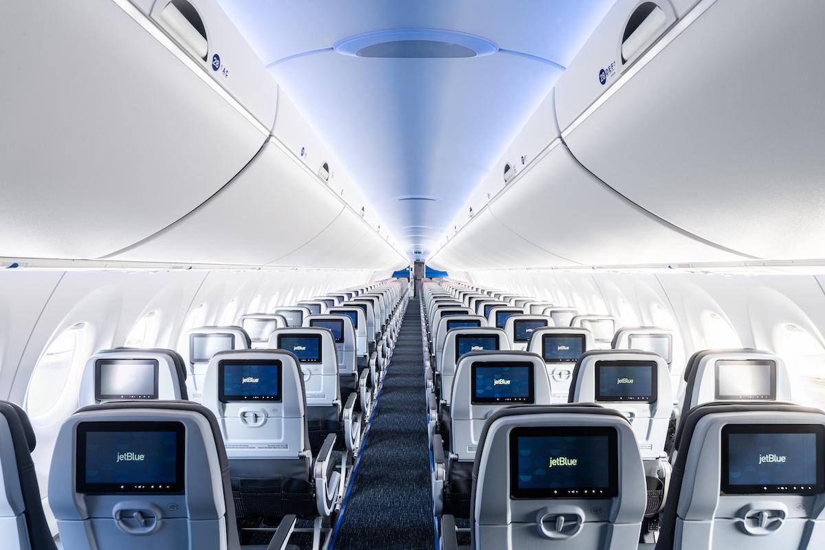 JetBlue A220 Cabin