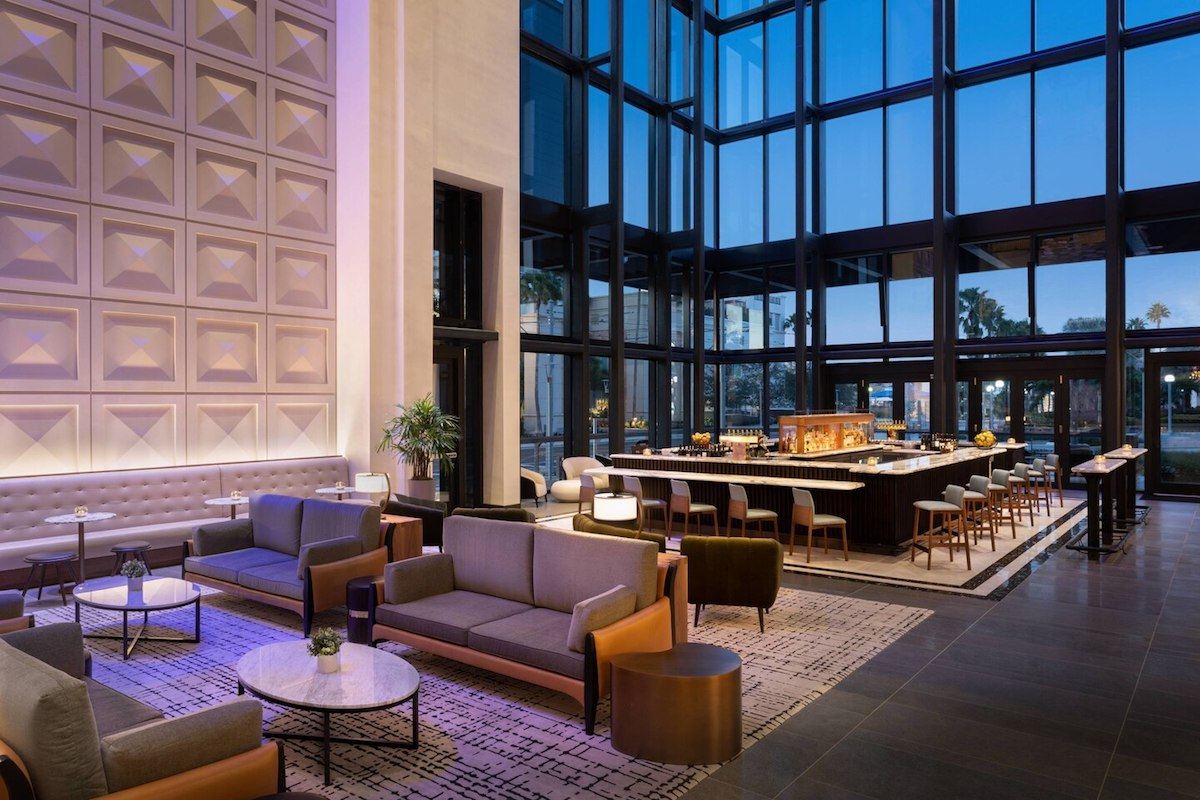 JW Marriott Tampa Lobby Lounge