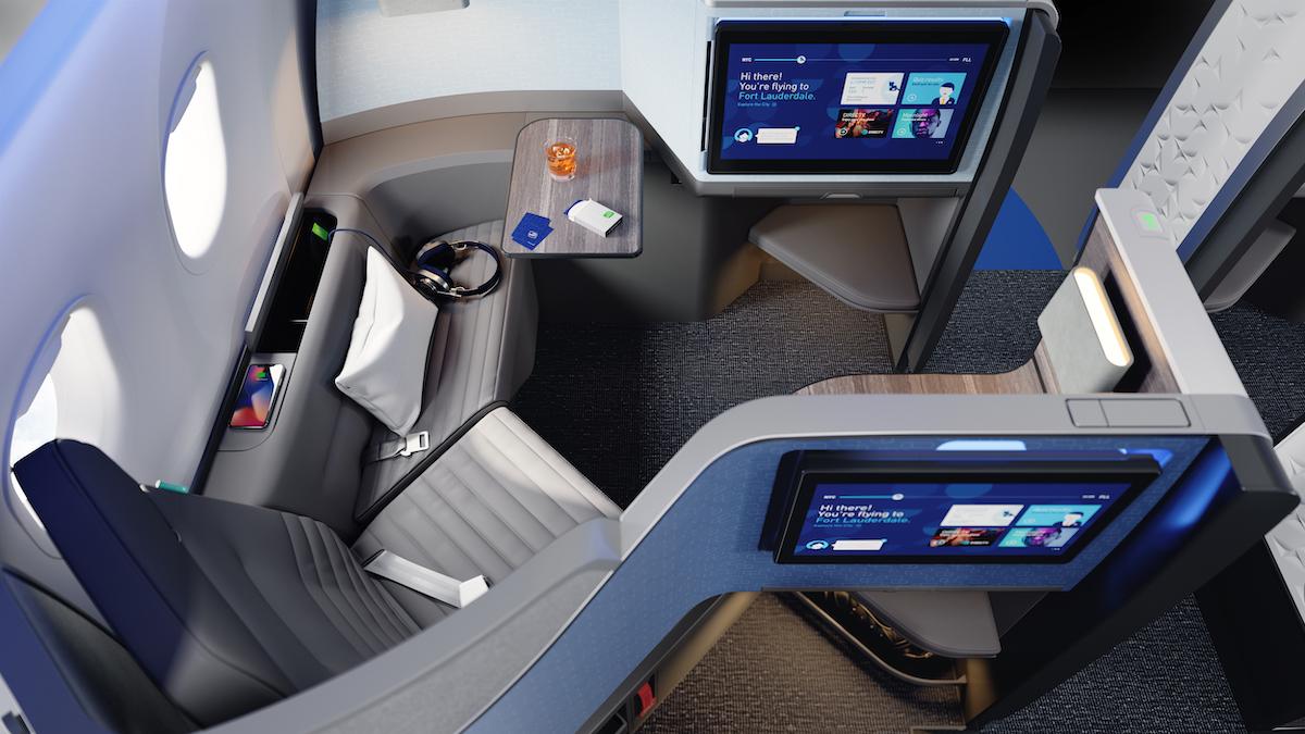 JetBlue A321neo Mint Suite
