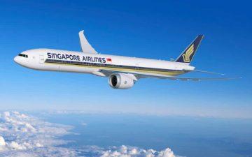 Singapore Airlines 777 9