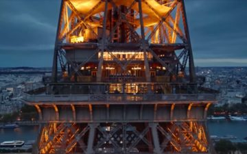Air France Safety Video Eiffel Tower
