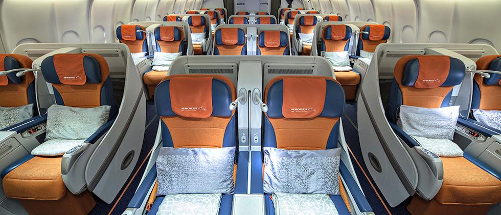 Aeroflot Business Class A330