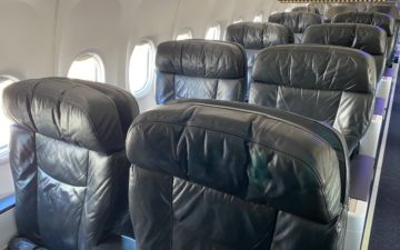 Alaska Airlines First Class 737 – 3