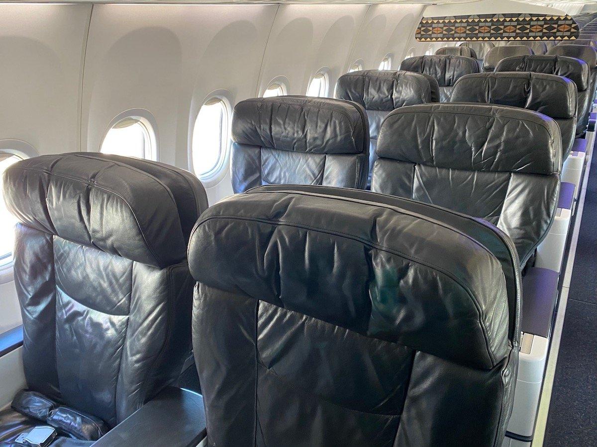 Alaska Airlines First Class 737 3