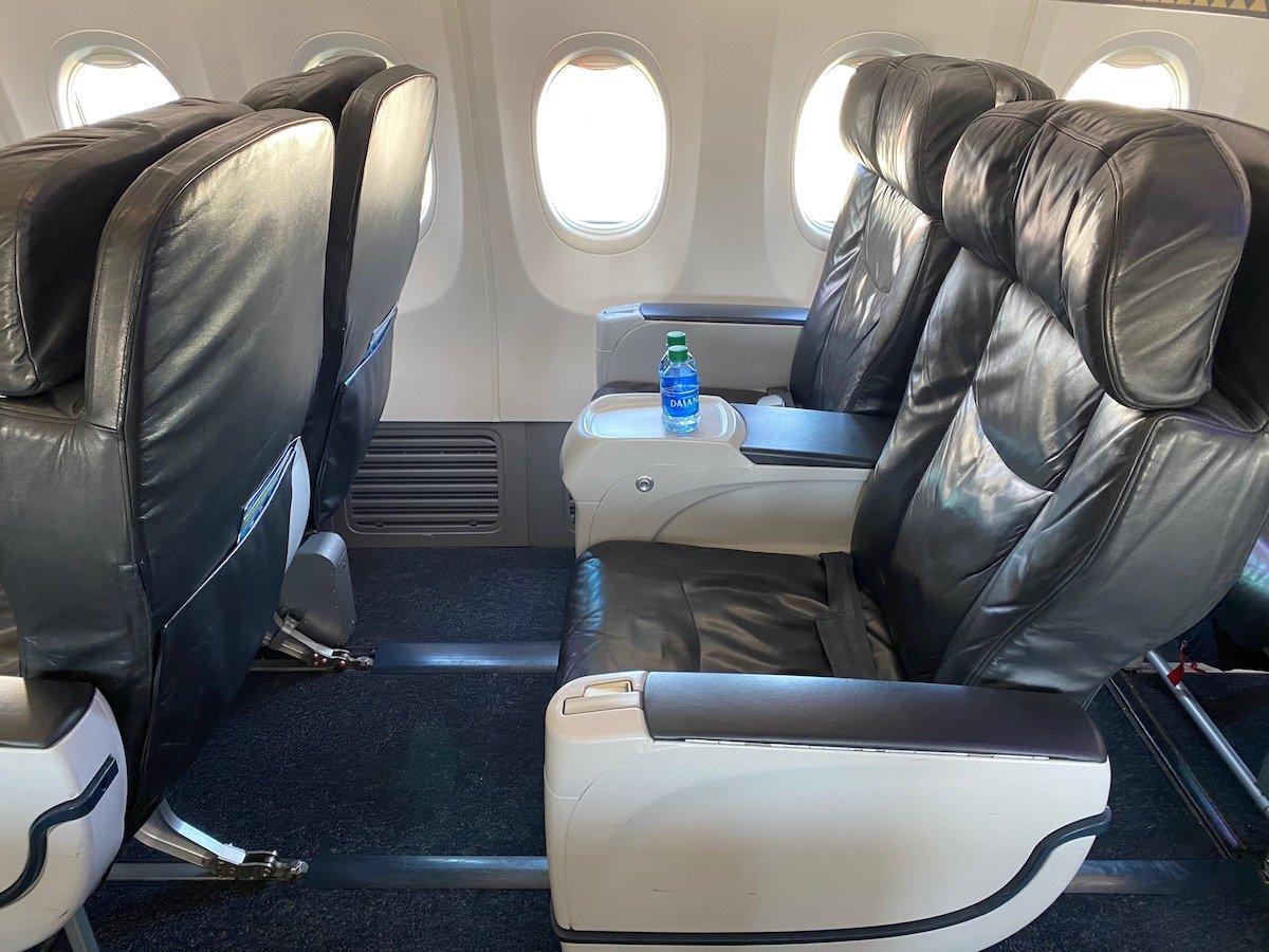Alaska Airlines First Class 737 5