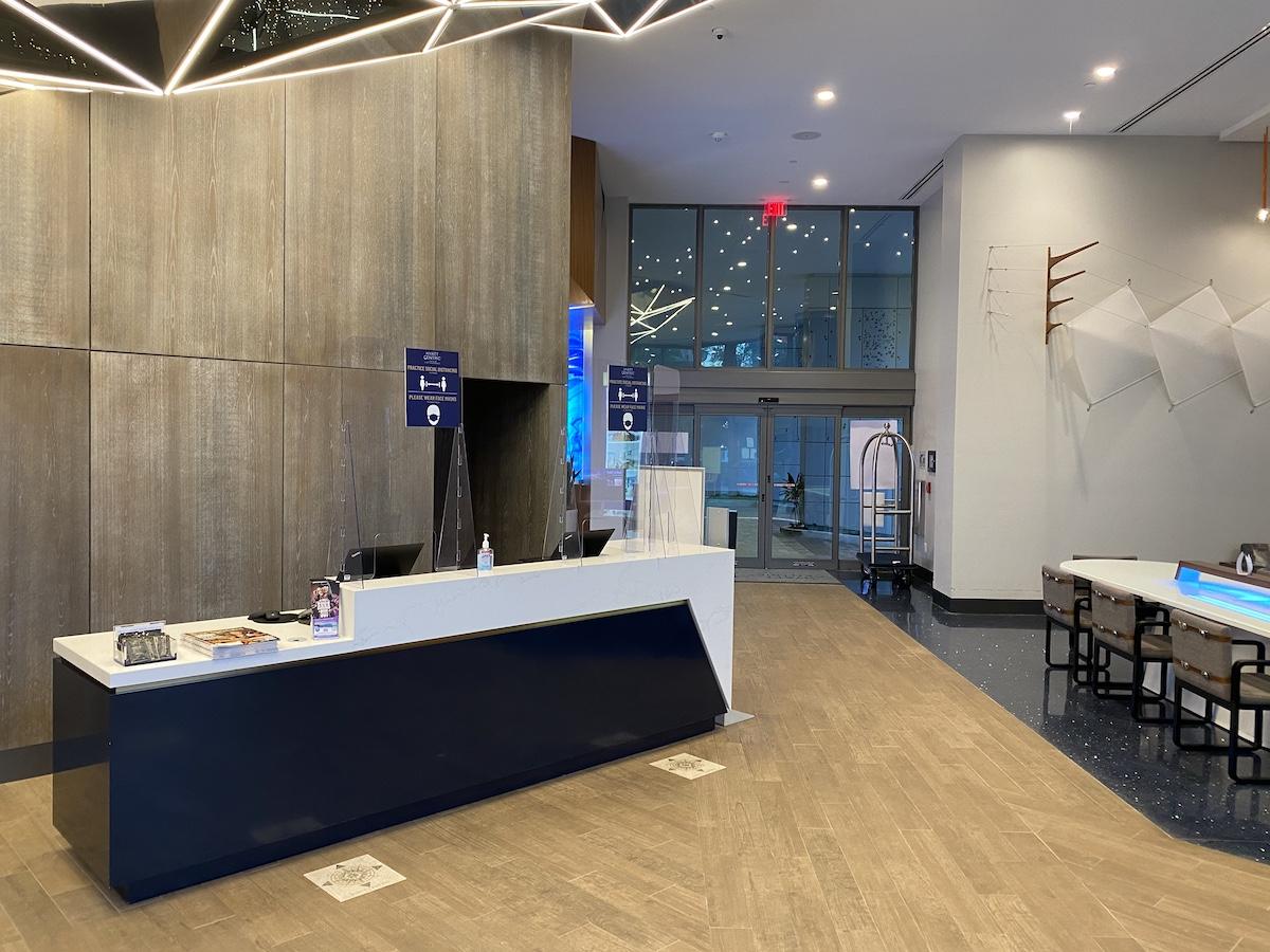 Hyatt Centric Fort Lauderdale Lobby