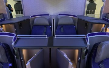United 787 Polaris Seats