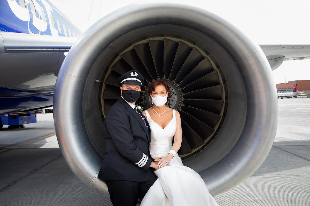 Southwest Pilot Married Inflight 2