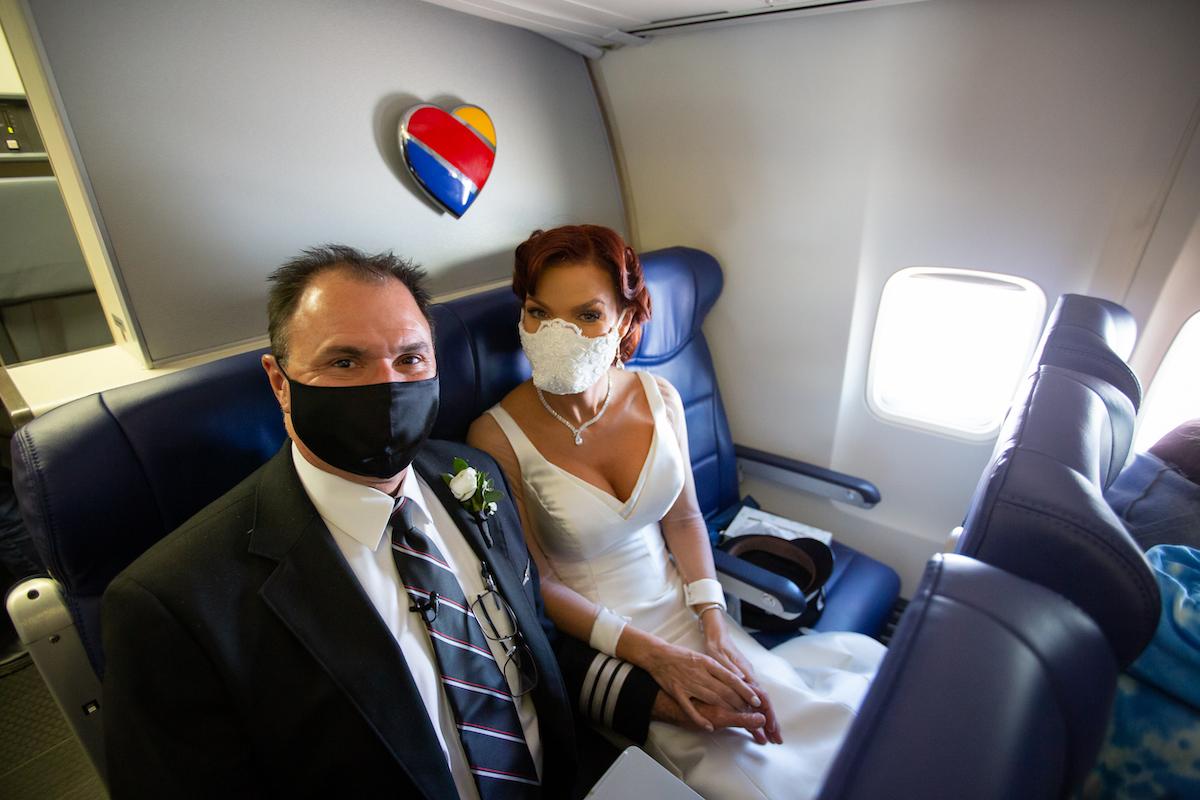 Southwest Pilot Married Inflight 4