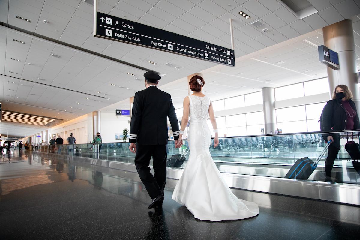 Southwest Pilot Married