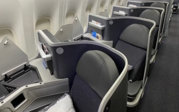American Airlines 777 Business Class – 1